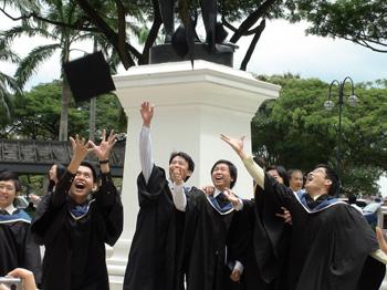 新加坡英华美学院学生风采